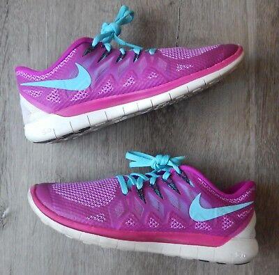 NIKE Free 5.0 Fuchsia Flash (642199 504) Womens Running Shoe Size 9.5   eBay