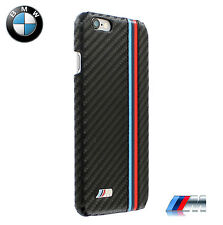 BMW M Collection Hard Case for iPhone 6/6S Carbon Effect Black (BMHCP6MC)