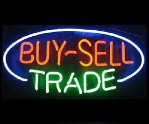 Details about New Buy Sell Trade Bar Beer Man Cave Neon Light Sign 17