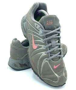 Nike-Max-Air-Torch-Womens-Size-8-Running-Shoes-Gray-Pink-Training-317004-060-EUC