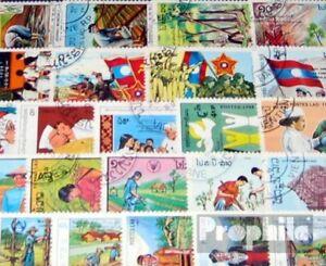Laos-50-verschiedene-Sondermarken