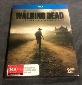 Details About The Walking Dead Season 2 Blu Ray 2 Disc Set With Slip Cover Never Used Like New