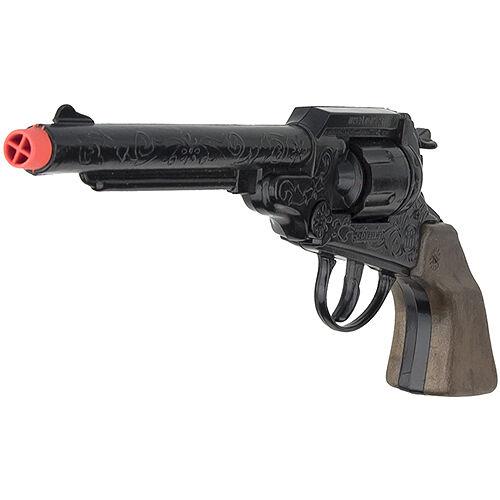 Cap Gun 8-shot Die Cast Western Cowboy Revolver
