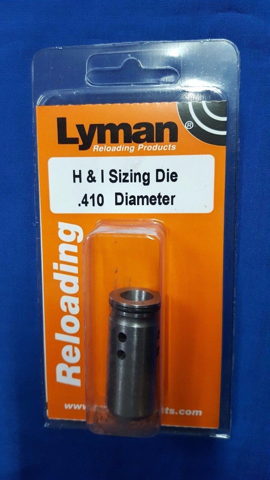 Lyman H & I Sizing   Sizer Die .410 - NEW 2766505 410