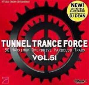 TUNNEL-TRANCE-FORCE-VOL-51-2-CD-DJ-DEAN-NEU