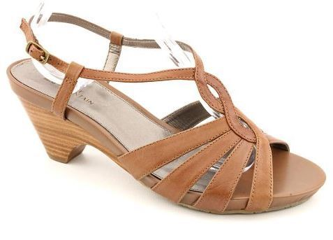 White Mountain Women's Minny Strappy Sandal, Rust Leather 8.5M