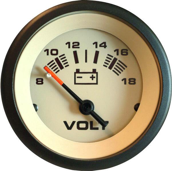 Teleflex Sahara Voltmeter 59708P