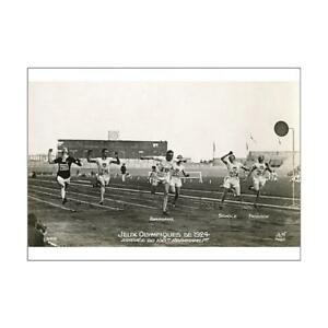 7185303-A1-84x59cm-Poster-of-Harold-Abrahams-wins-100m-1924-Olympics