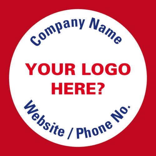 398 Business PERSONALIZZATO LOGO ADESIVI grazie SIGILLI BUSTE promozione