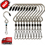 10pcs-Swivel-S-Hooks-Clips-Hanging-Wind-Spinners-Chimes-Crystal-Twister-Rotating thumbnail 1