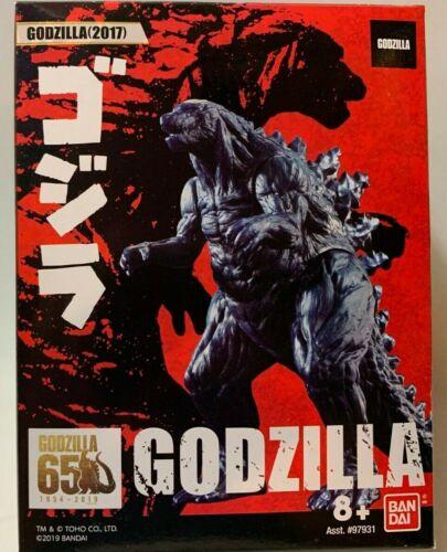 2019 Bandai Godzilla 65th Ann 2017 film version 3.5 in environ 8.89 cm MINI FIGURE NEW EN STOCK