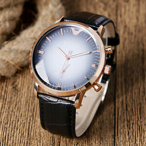 Mens-Quality-Kevin-Rose-Gold-Quartz-Classic-Anolog-Sports-Wrist-Watch-Aussie