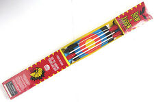 "34"" Fiberglass BOW SET- 3 Suction Cup Arrows & Target Archery Kids child toy"