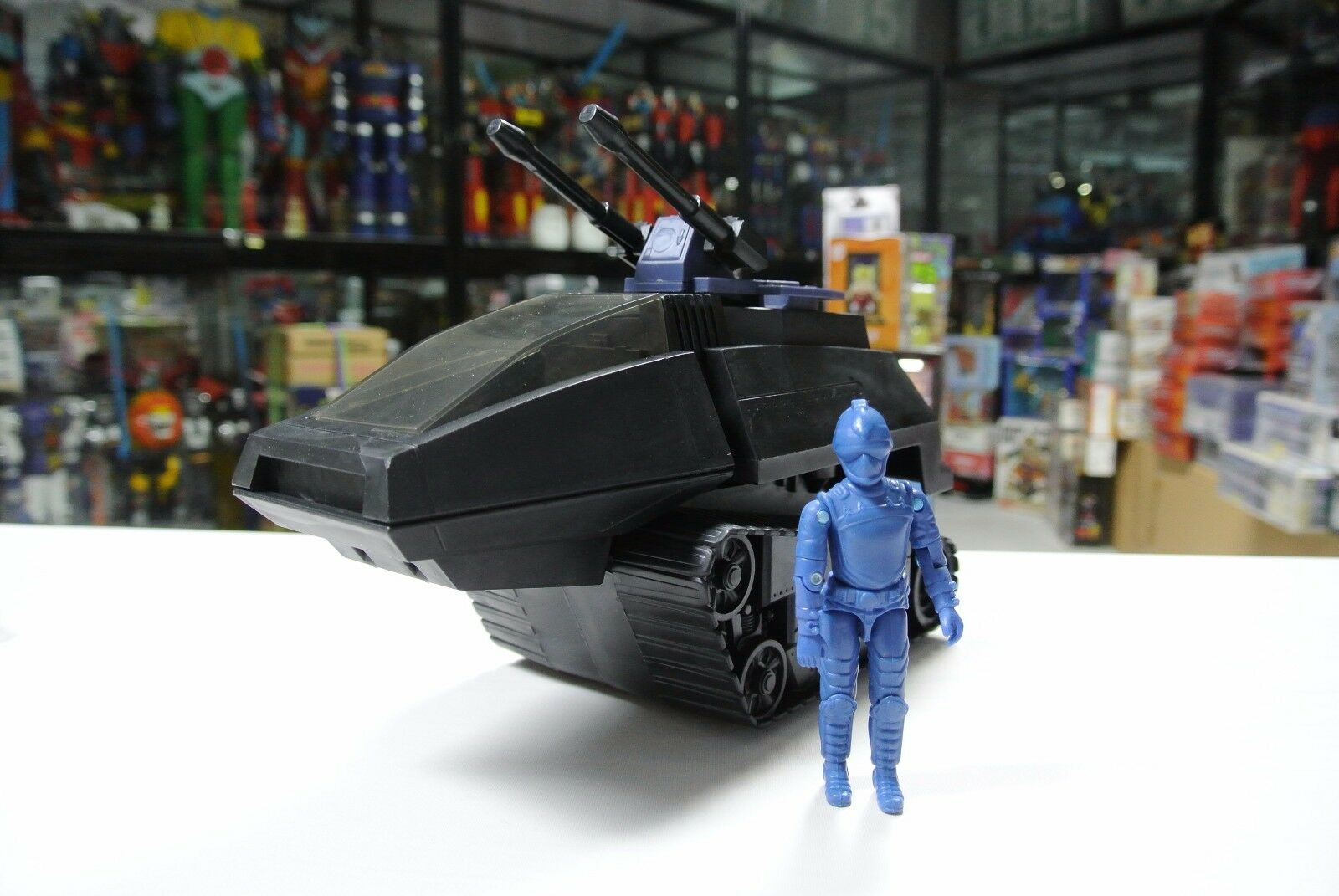 1983 Hasbro GI JOE COBRA HISS véhicule Test Shot prougeotype factory sample Tank