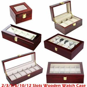 2-6-10-12-20-Grids-Wooden-Watch-Display-Case-Case-Storage-Box-Jewelry-Organizer