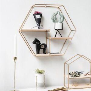 Metal Wall Shelf Modern Solid Small, Living Room Ornaments