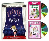 Eloise In Paris (hc) Me, Eloise & Eloise Little Miss Chrstimas (dvd) 3 Pack