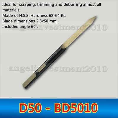 NOGA Internal Scraper Tool BD5010 Pack of 10 Mfg Number