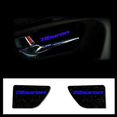 BLUE LED 2ea 1set Door Light Plate Catch For Hyundai 03 08 Tiburon : Tuscani