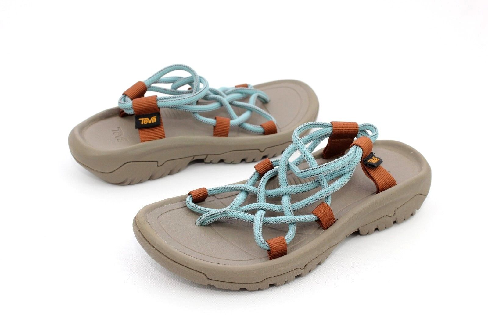 TEVA HURRICANE XLT INFINITY SEA GLASS SPORT SANDALS US 7 WOMENS