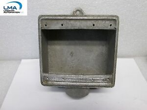 LN-fs-OUTLET-BOX-STEEL-IRON-RECEPTACLE-2-GANG-1-034-NPT-1-port
