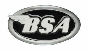 Herren-accessoires Black GüNstig Einkaufen Bsa Classic Motorcycles 'oval Logo' Belt Buckle