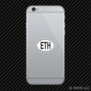 Image Is Loading Eth Ethiopia Country Code Oval Cell Phone Sticker