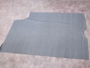 1967 gto vinyl trunk mat in gray houndstooth