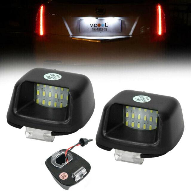 2x Rear Bumper License Number Plate Light for Nissan Navara D40 Lamp Bulb LED ST