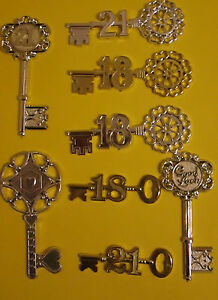 Key to the door18 or 21 18th or 21st birthday cake topper for 18th key of the door