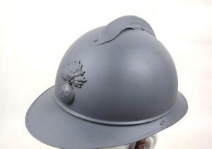 French WW1 M15 Adrian Helmet