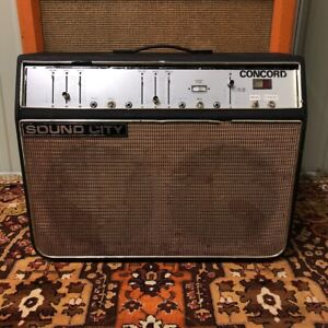 Vintage-1970s-Sound-City-Concord-CCD-2x12-Valve-Amplifier-Combo