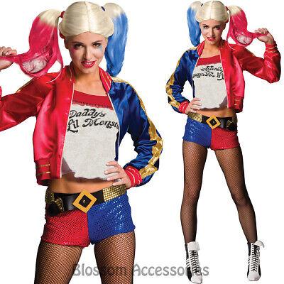 CL965 Suicide Squad Ladies Harley Quinn Costume Harley Quinn/'s Batman Joker