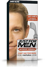 Just For Men Autostop Mens Hair Colouring Dye Colour Restorer Sandy Blonde