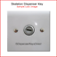 034-Universal-034-Skeleton-Key-for-Paper-Towel-amp-Toilet-Tissue-Dispensers-12-pk thumbnail 3