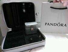 New Authentic Pandora Travel Jewelry Box-Storage w Rings Box.Jewelry no included