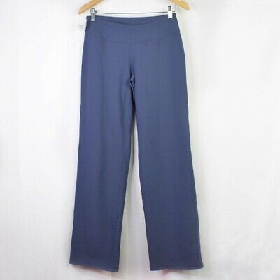 zella pants size 6 grey slate activewear yoga polyester
