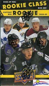 2008-09-Upper-Deck-Rookie-Class-Hockey-Factory-Sealed-Box-50-Cards-Jumbo-Stamkos