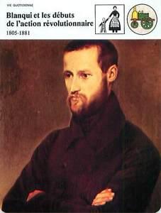 FICHE-CARD-Auguste-Blanqui-1805-1881-blanquisme-revolutionnaire-Paris-France-90s