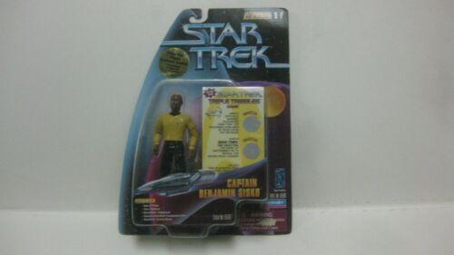 Star Trek Warp Factor Series 1 Captain Benjamin Sisko From Playmates NEW t1093
