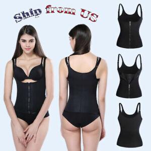Women-039-s-Body-Shaper-Slimming-Waist-Trainer-Cincher-Underbust-Corset-Shapewear-US