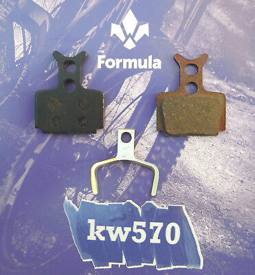 Coppia pastiglie Organiche//Resina R1//RX//T1//R1R//RO//CURA FD40105-10 Formula