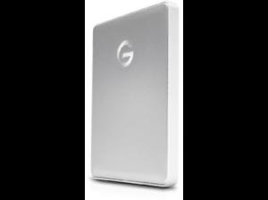 "Disco duro 1TB - G-Technology G-Drive Mobile, 1TB, 2.5"", USB-C, Plata"