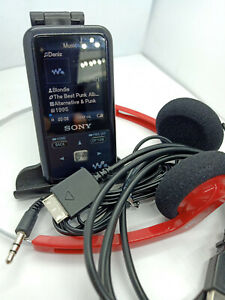 Sony-Network-Walkman-NWZ-S616F-MP3-WMA-MP4-4GB-Digital-Media-Music-Player-Black