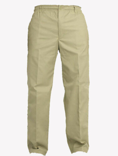 """New Mens Rugby Trousers Elasticated Waist Casual Smart Work gym Pants W30/'/'-50/"""""""