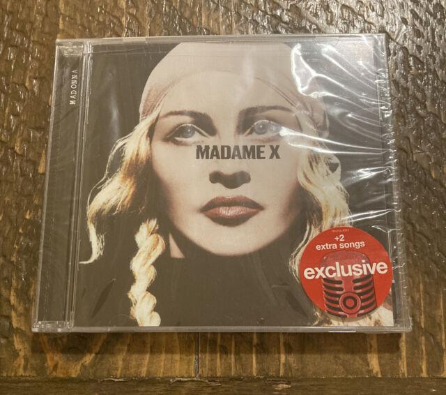 New: MADONNA - Madame X - Target Exclusive Deluxe Edition + 2 Bonus Tracks CD