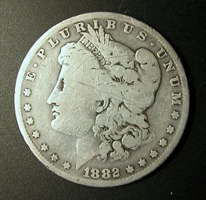 Image Is Loading 1882 O S Morgan Silver Dollar Price Reduced