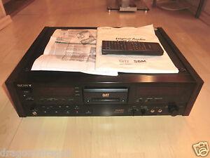 Sony-dtc-2000es-high-end-DAT-grabador-hice-una-reparacion-general-520h-2j-garantia