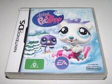 Littlest Pet Shop Winter Nintendo DS 2DS 3DS Game Preloved *Complete*