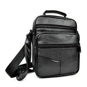 Men-039-s-Leather-Crossbody-Messenger-Shoulder-Bags-Satchel-Small-Handbag-Tablet-Bag